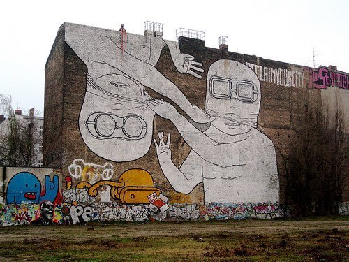 Mural by Blu - After - Spotted in Kreuzberg