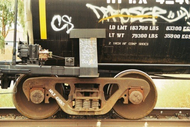 DFT - Freight Train Graffiti in Arizona
