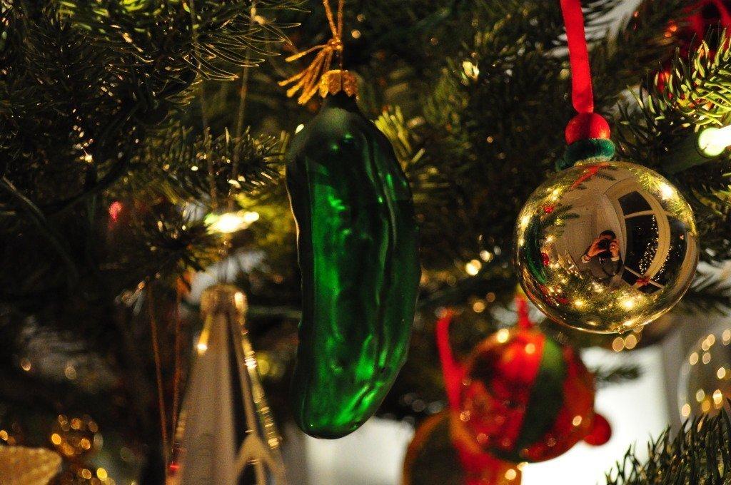 The German Christmas Pickle Myth