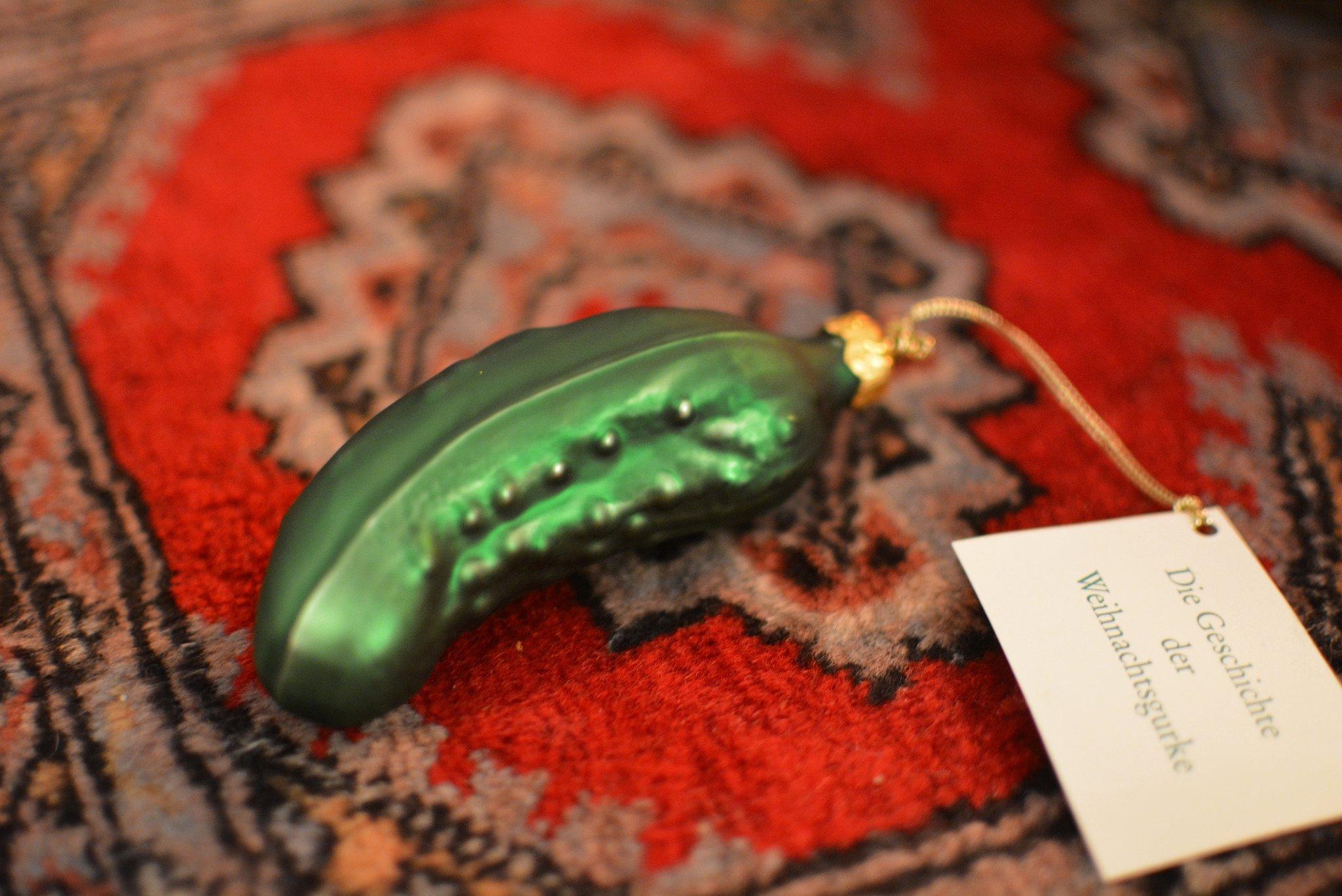 The German Christmas Pickle Myth Digitgal Cosmonaut