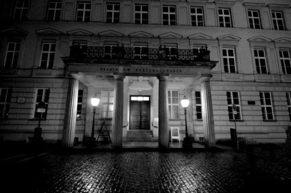 In front of the Palais am Festungsgraben in Berlin