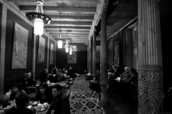Inside The Tadschikische Teestube