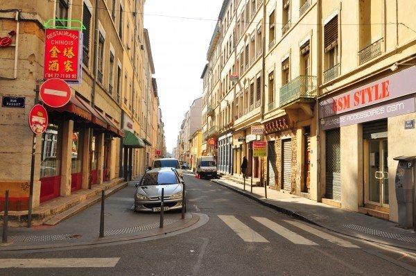 Quartier Chinois, Lyon - Rue Passet / Rue Pasteur