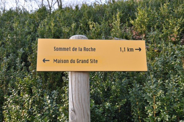Off to the Summit of the Rock of Solutré