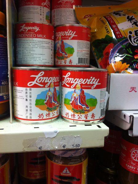 Longevity Brand Condensed Milk