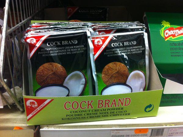Cock Brand Coconut Cream Powder