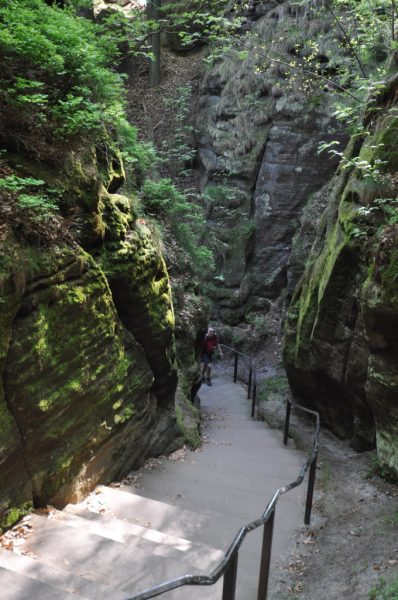 The Bastei Staircase Built in 1814