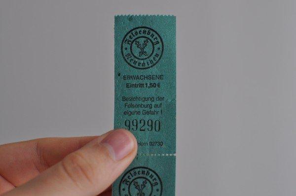 Tickets to the Felsenburg Neurathen in Saxon Switzerland