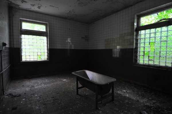 One of many Bathtubs spread around the Krampnitz Military Base