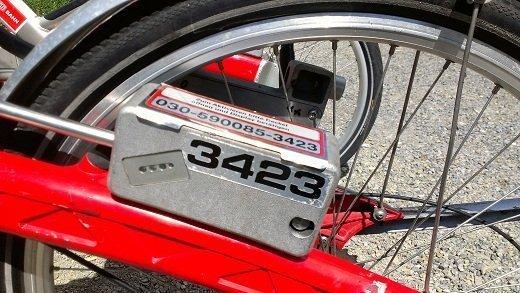 Call A Bike Unlock Box