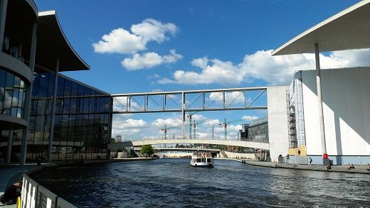 Government Buildings along the Spree