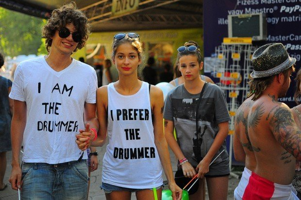 I Prefer the Drummer