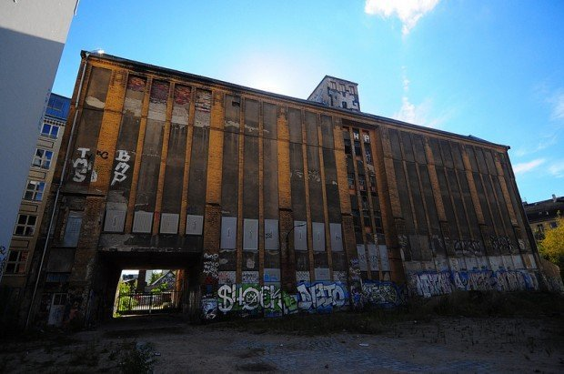 Residential Wing of the Eisfabrik in Berlin, Germany