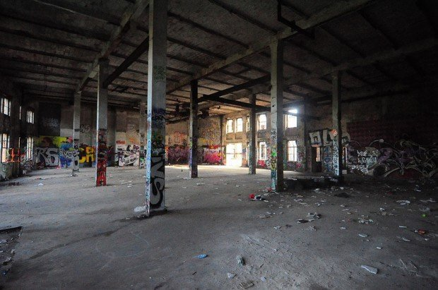another empty hall on the first floor