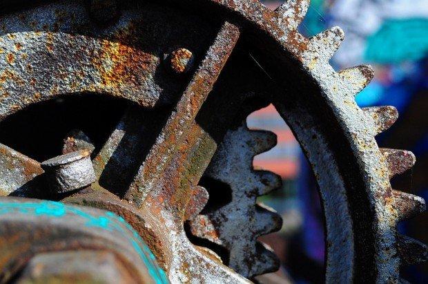 large crane gears
