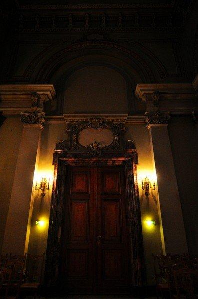 Main Door of the Tauf und Traukirche