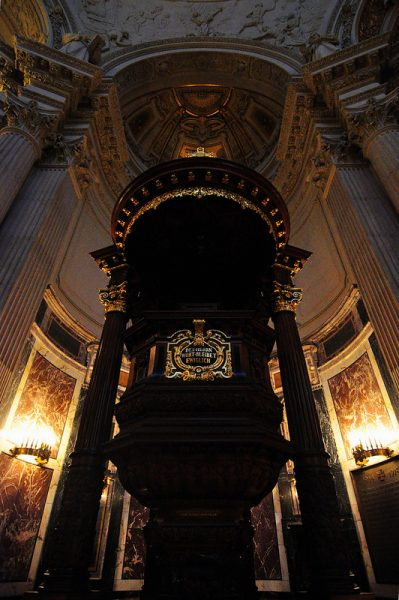 The Pulpit of the Berliner Dom