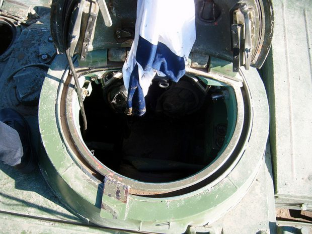 T55 Tank Comander Hatch