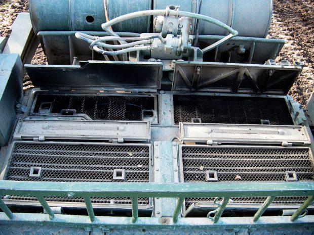 Tank Engine Air Intake