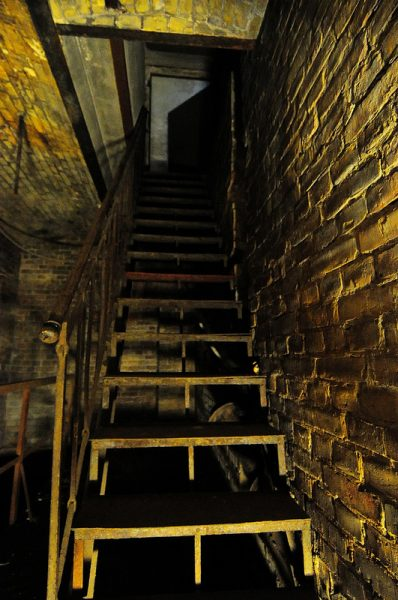 Cellar Stairs leading into the Stadtbad