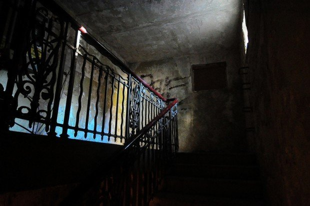 Back Staircase to the First Floor