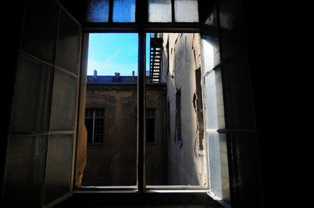 Window on the First floor