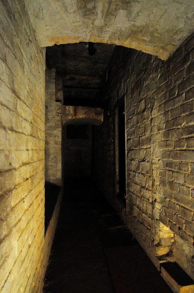 Dark alleyways in the Cellar