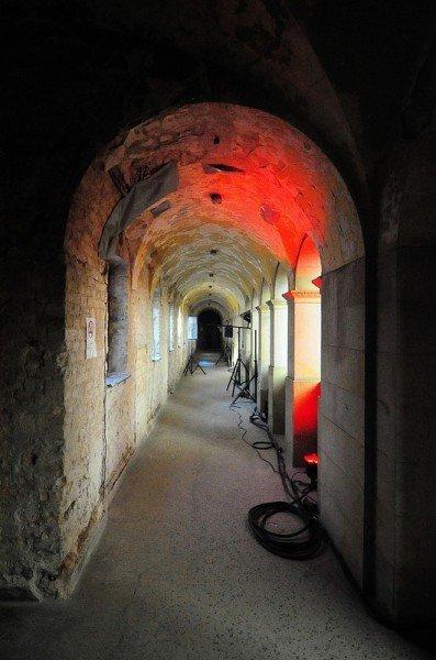 Upper Level Archway