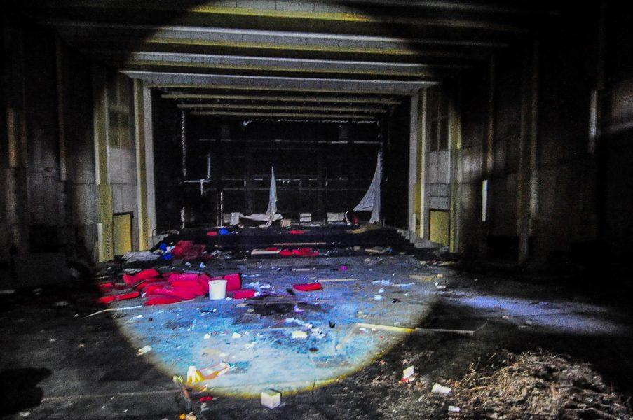Kino Sojus abandoned cinema berlin germany main theater