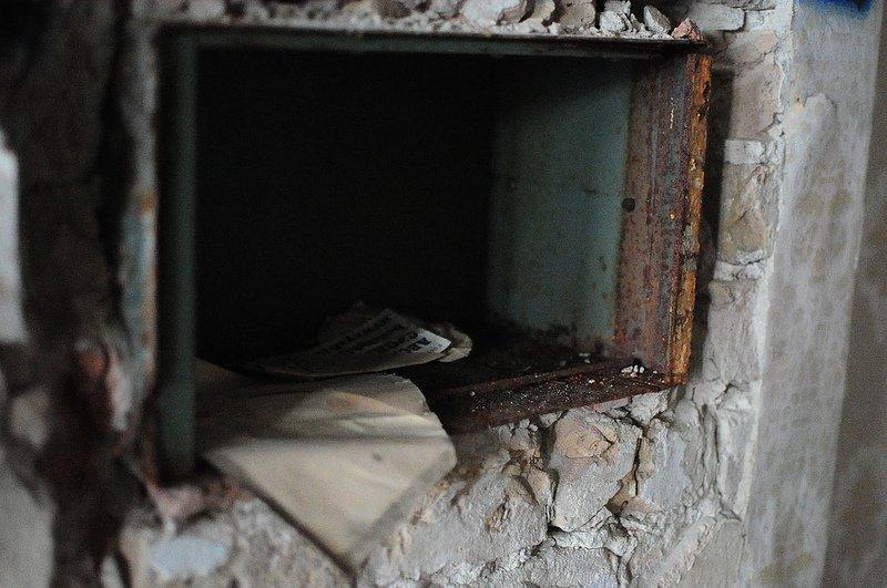 broken safe