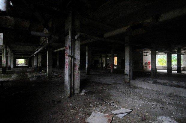second floor factory hall