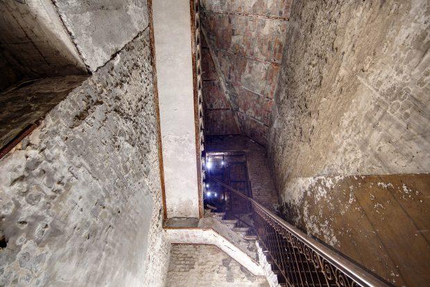 staircase in the Kolibri Festsaele und Kabaret