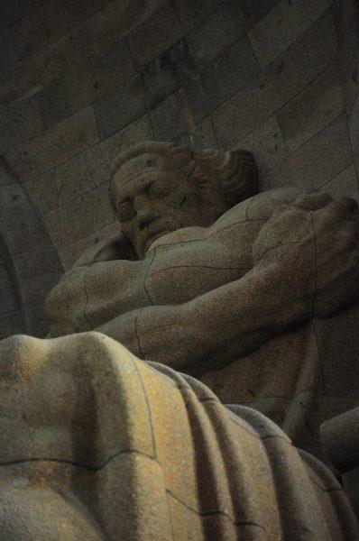 statue of volkskraft