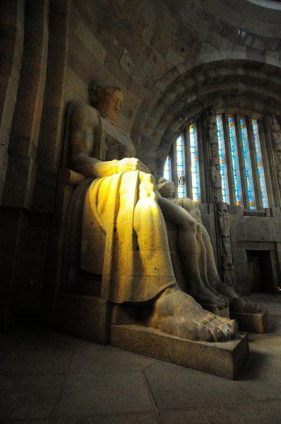 statue symbolising faith
