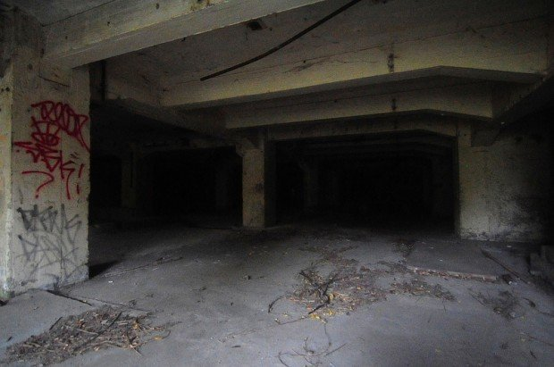 underground depot