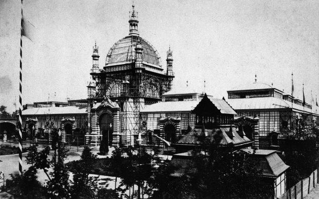 Ausstellungspalast ULAP in Berlin 1885