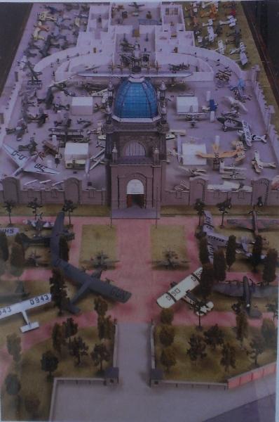 Scale Model of the Deutsche Luftfahrtsammlung Berlin