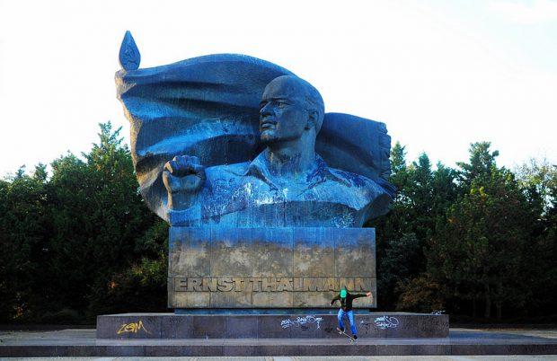 The Ernst Thälmann Denkmal in Berlin