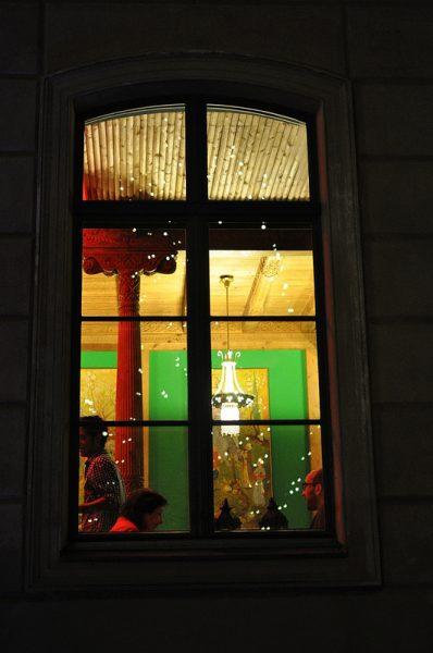 Window of the Tadschikische Teestube