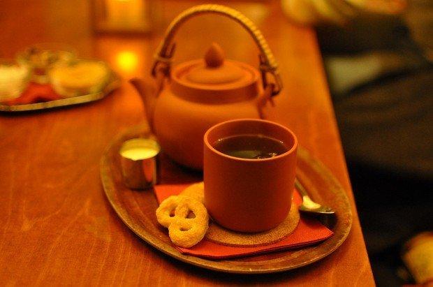 Pot of Assam Tea