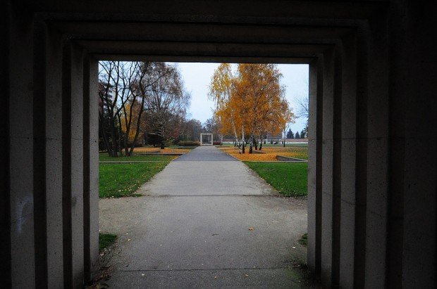 Tunnel Entrance to the Zellengefängnis Moabit