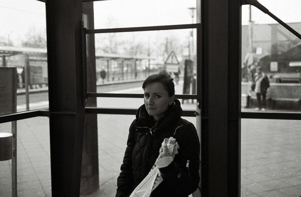 Girl with Baguette