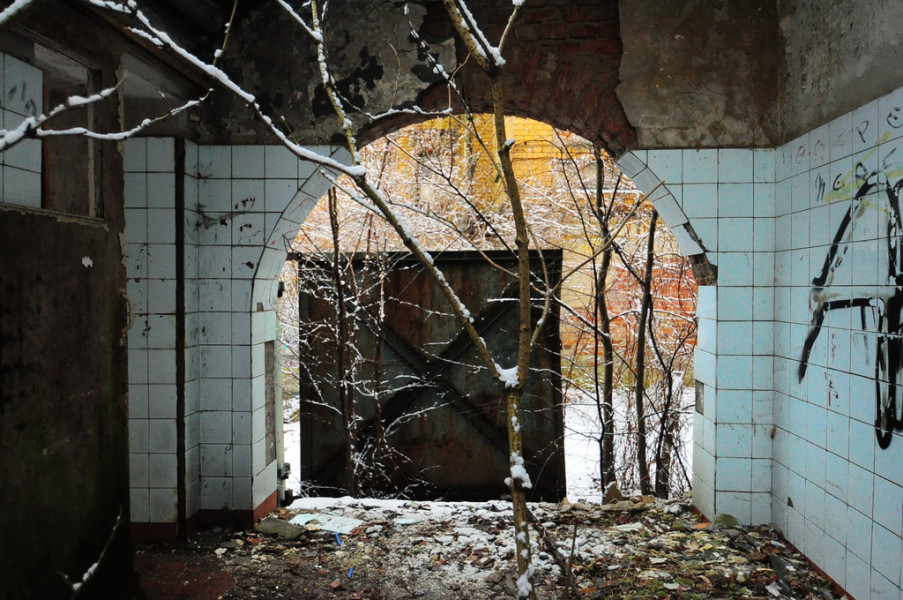birch tree ballhaus bathroom