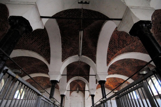 brick groin vault ceiling