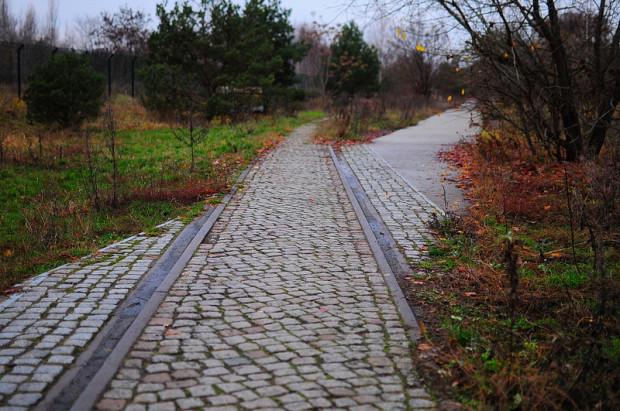 old train tracks nordbahnhof
