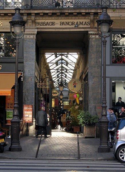Passage des Panoramas in Paris - Photo by Remi Juan