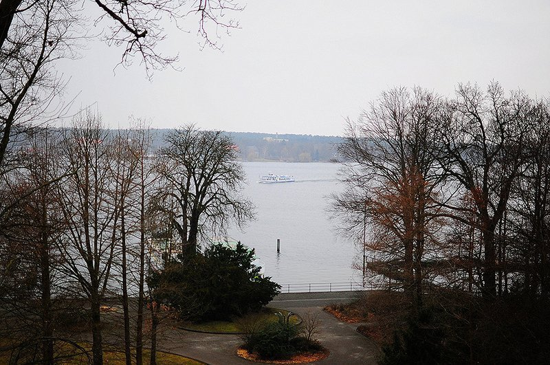 view over the wannsee in berlin