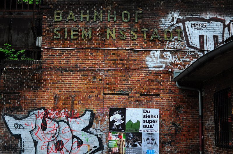 111 Places in Berlin – Nr 86: The S-Bahnhof Siemensstadt