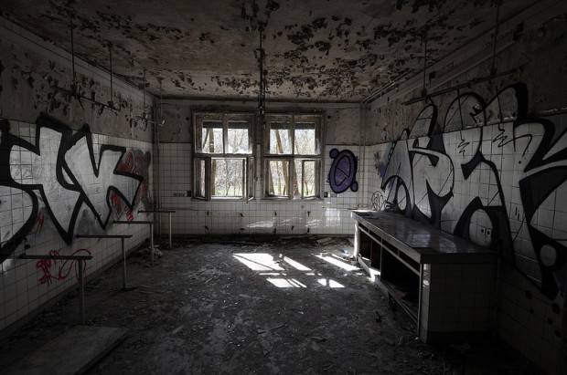 The Abandoned Childrens Hospital in Weißensee