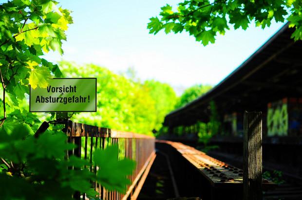 abandoned sbahn station siemensstadt